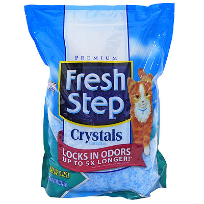 FRESH STEP Crystals силикагель 3,62 кг